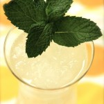 Becky's Lovely Mint Lemonade Slush