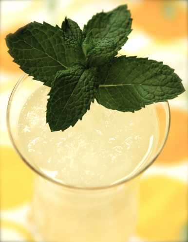Mint Lemonade Slush
