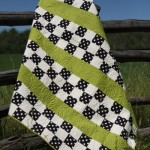 Squares and Stripes Picnic Quilt Pattern