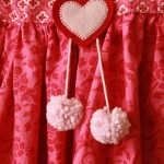 Pom Poms and Hearts
