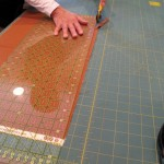Cutting Fabrics for a Quilt