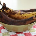 Waste Not, Want Not… or making Banana Bread