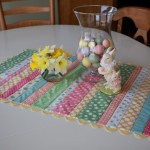 Making an Easy Easter Table Runner