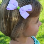 Making Easy Ribbon Hair Clips