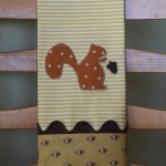 Squirrel Dish Towel
