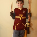 Just in Time- Harry Potter Quidditch Costume