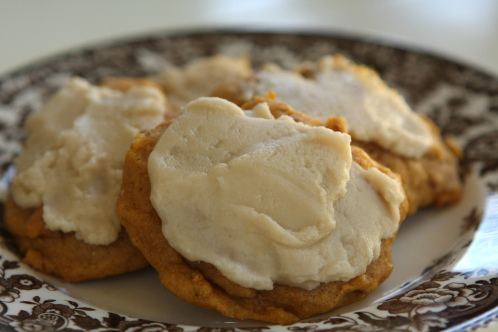 Harvest Pumpkin Cookies