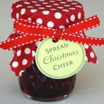 Spread Christmas Cheer: Jelly Jar Labels
