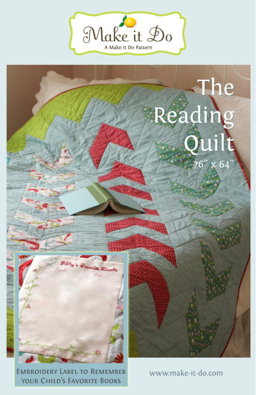 The Reading Quilt Pattern