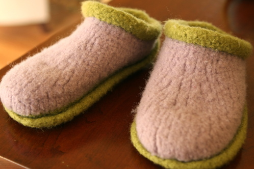 How to Knit Children's Slippers How to Knit Children's Slippers