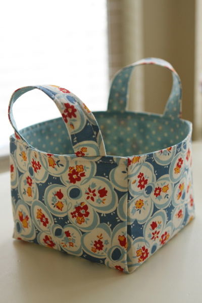 Posts Tagged 'make a fabric basket'