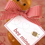 Bee Mine- Valentine Card Template