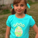 Good Egg- Easter Tee-Shirt Tutorial