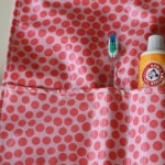 How to Sew a Toothpaste Carrier