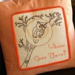 Owl Embroidery Template