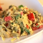 Chilled Rice and Artichoke Salad Recipe