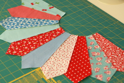 how to make fan bunting