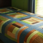 Gee's Bend Inspired Boy's Room Quilt