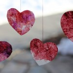 Valentine Crafts and Peanut Butter Cookies