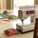 Tips for Sewing at your Kitchen Table