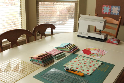 the first to admit sewing in your kitchen is not ideal but i