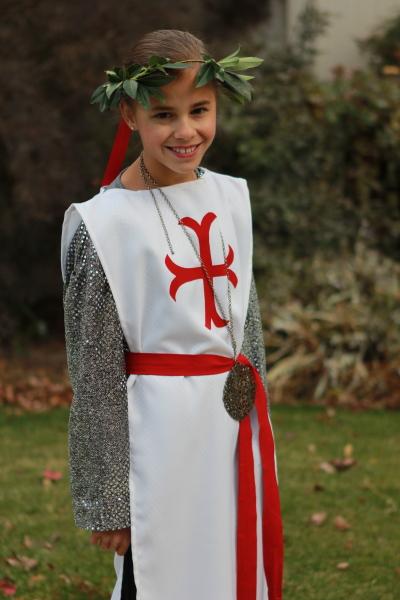 Joan Of Arc Costume Kid